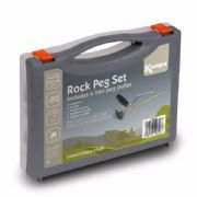 Kampa Rock Peg Box of 20 + Free Peg Puller In Case